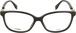 Luxury Fashion | Fendi Womens FF034680715 Black Glasses | Season Permanent