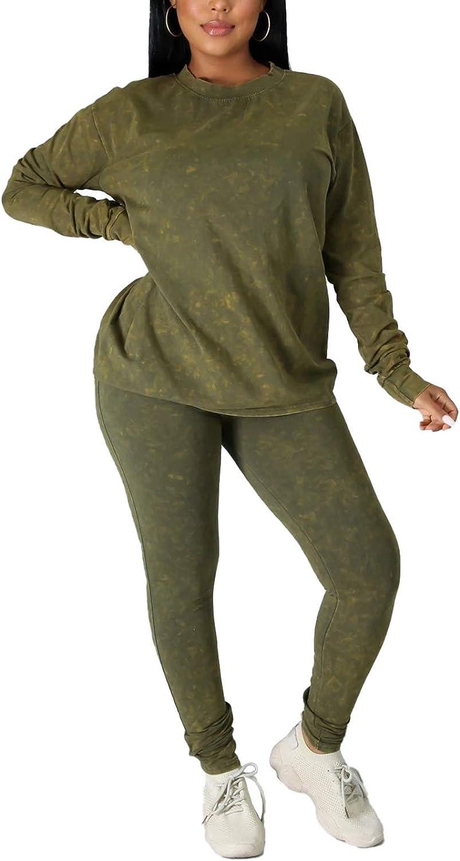 Plus-Size Women 2 Piece Outfits for Women Casual Sweatsuit Long ...