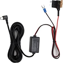 AUTO-VOX Dash Cam 2A Hardwire Kit ATO Fuse Regular (Medium) Fuse Adapter Kit - 12V to 5V for Dash Cam X1 X2 A1 M8 M6 D2 Pro G1W M3 GPS Navigator & All Mini USB Dashboard Camera Car DVR Power Supply