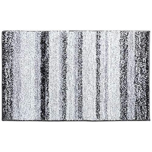 Goodvk Freistehende Badewanne extra Dicke Mikrofaser Badematte rutschfeste antibakterielle Badezimmer Teppich perfekt for Schlafzimmer und Badezimmer Maschinenwäsche 50X80CM