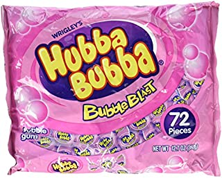 Hubba Bubba Bubble Gum Bubble Blast 72 Ct