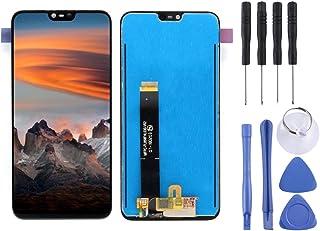 Fixa telefondelar renovera LCD-skärm och digitizer Fullständig montering för Nokia X6 (2018) Tillbehör