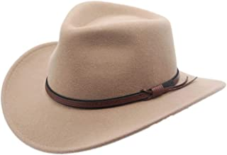 Silver Canyon Boot and Clothing Company Men's Outback Wool Cowboy Hat Bozeman Crushable Western