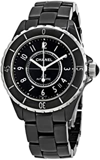J12 Black Ceramic Automatic Midsize Unisex Watch H0685