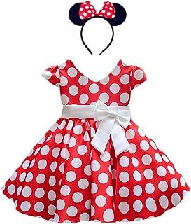 DreamHigh Girls Toddlers Cap Sleeves Skirt Vintage Polka...