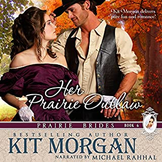 Her Prairie Outlaw audiobook cover art