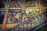 VGFTP® 1000 Piezas Rompecabezas de Madera, Rompecabezas, Galería de Arte Abstracto Mural de niños Rompecabezas de descompresión Entrenamiento Rompecabezas para niños Juguetes educativos