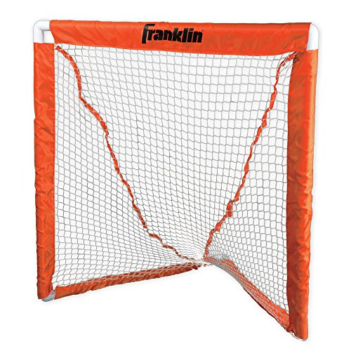 Franklin Sports Deluxe Youth Lacrosse Goal Orange, One Size