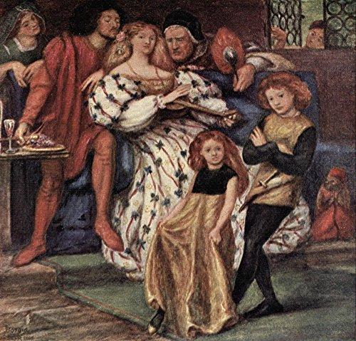 The Borgia Family Rossetti 1908 Poster Print by Dante Gabriel Rossetti (18 x 24)
