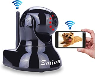 Sotion Video Baby Monitor, HD Wireless Pet Camera with Two Way Audio and Night Vision