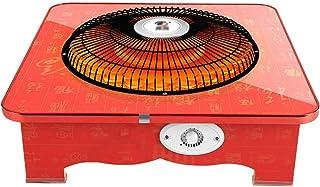 Skrivbordsvärmare för elektrisk värme hemma och på kontoret, PP-baserad kolfibervärmeugn med 2-stegs temperaturinställnin...