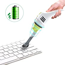 MECO Keyboard Cleaner, Rechargeable Mini Vacuum Wet Dry Cordless Desk Vacuum Cleaner,..