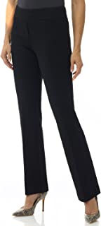 Rekucci Women's Secret Figure Pull-On Knit Bootcut Pant w/Tummy Control