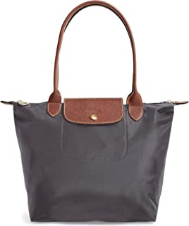 Medium 'Le Pliage' Tote Shoulder Bag, Gunmetal