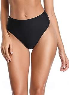 Women's High Cut High Waisted Bikini Bottom
