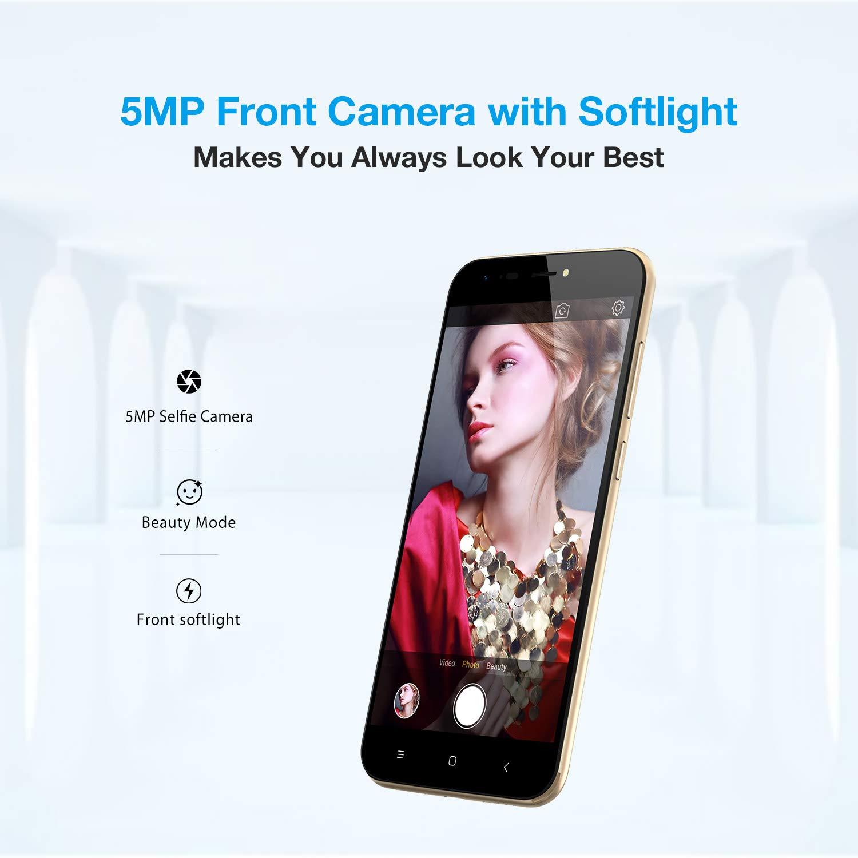 Ulefone S7 3G - Smartphone libre Textura de superficie 3D única ...