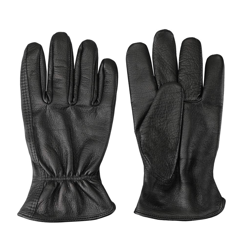 ALL PURPOSE PREMIUM  PLAINSMAN CABRETTA LEATHER GLOVES HUNTING DRIVING X-LARGE