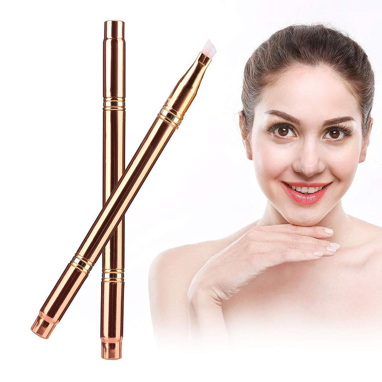 疑わしいジョグクレタ多機能ポ ータブル 化粧ブラシ 眉毛リップハイライト 化粧道具(02)