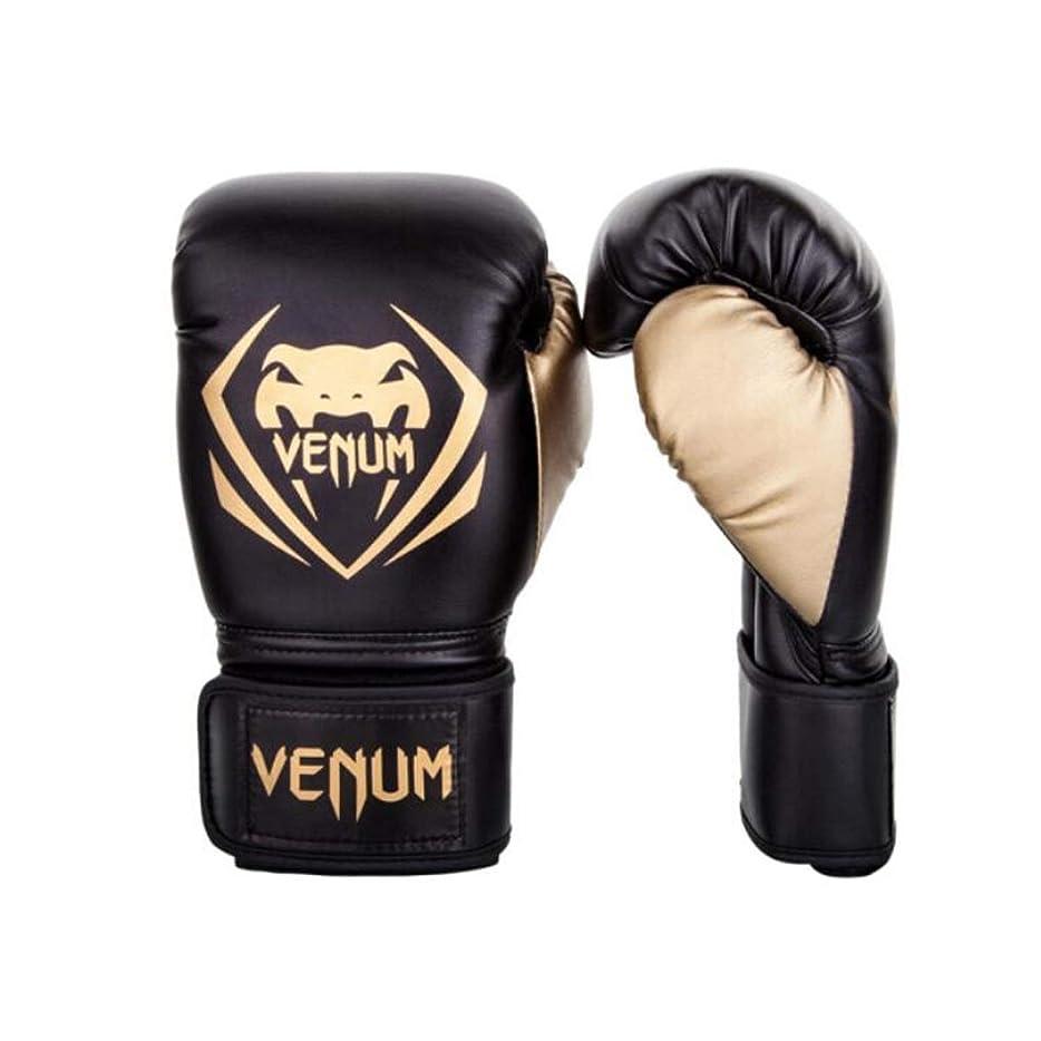 焦げオーロック最初にボクシンググローブ、サンドバッグトレーニングムエタイボクシングファイティンググローブ、ブラックゴールド8オンス