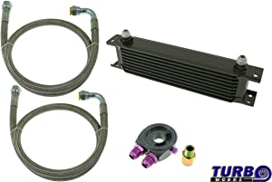 V-MAXZONE M-5651 SPORT OIL COOLER KIT 7-ROWS 260x50x50 AN8