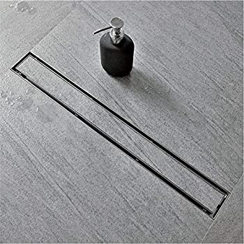 Neodrain 24-Inch Linear Shower Drain with Tile insert Grate Professional Brushed 304 Stainless Steel Rectangle Shower Floor Drain Manufacturer,Floor Shower Drain