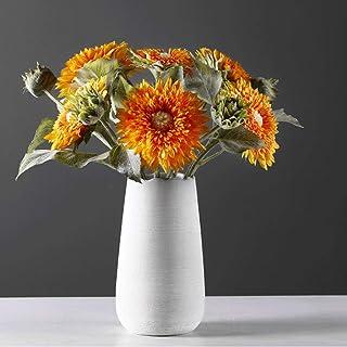 Decoracion Jarrones Nórdicos modernos adornos for el hogar estilo europeo minimalista decoración florero de cerámica salón...