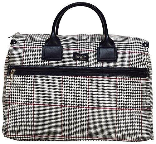Nicole Miller New York Designer-Reisetasche, Übergröße, 55,9 cm, für Damen, Unisex-Erwachsene (nur Gepäck), Rosalie Beige, One_Size