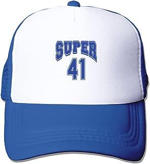 Cool Super #41 Mesh Baseball Caps