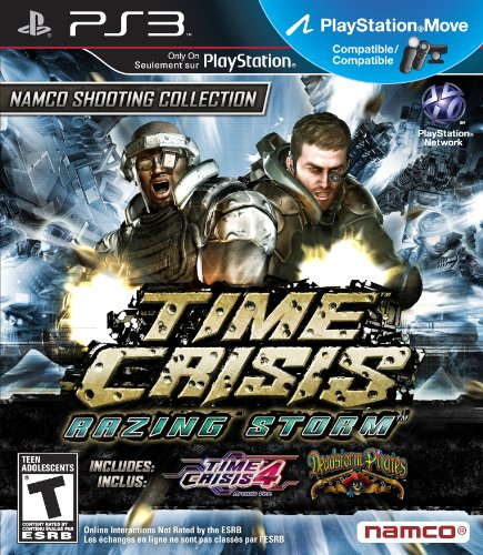 Namco Bandai Games Time Crisis: Razing Storm, PS3 PlayStation 3 Inglés vídeo - Juego (PS3, PlayStation 3, Shooter, Modo multijugador, T (Teen))