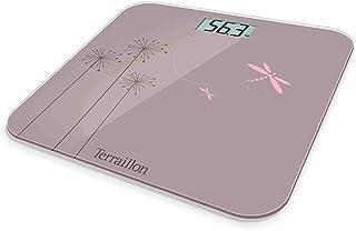 Terraillon Eden - Báscula de baño, 160 kg, 100 g, color rosa