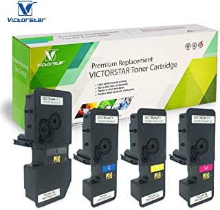 VICTORSTAR @ Compatible Toner Cartridge TK5242 / TK-5242 for Kyocera ECOSYS P5026cdn / P5026cdw / M5526cdn / M5526cdw Laser Printers (4 Colors)