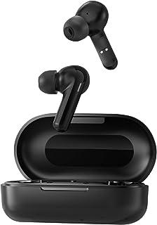 Audifonos inalambricos bluetooth HAYLOU GT3, DSP reducción de ruido con control táctil con total tiempo de reproducción de 24 horas, conexión rápida, IPX4 resistente al agua/(negro)