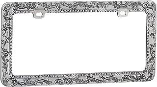 Valor LPF2HG010TSK Design License Plate Frame with Crystals