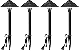 LNDXING LED Outdoor Landscape Lights, 4 Pack 3W 12V Low Voltage Garden Lights Outdoor, IP65 Waterproof 4000K Cool White Pathway Garden Yard Patio Lamp