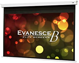 """Elite Screens Evanesce B, 92"""" 16:9, Recessed in-Ceiling Electric Projector Screen with Installation Kit, 8k/4K Ultra HD Re..."""