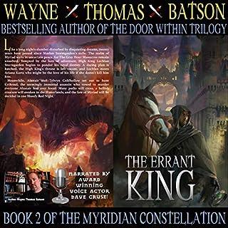 The Errant King audiobook cover art