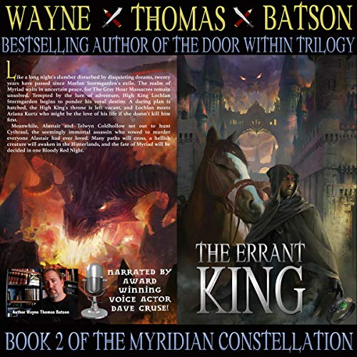 The Errant King audiobook cover art