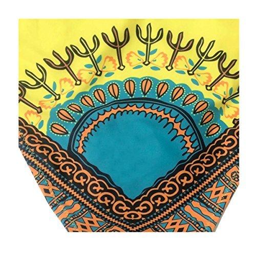 Bikini para mujer, diseño étnico, tribal, hueco, estampado azteca, talla S, M, L