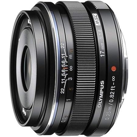 Olympus M.Zuiko Digital 17mm F1.8 Lens, for Micro Four Thirds Cameras (Black)