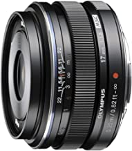 Olympus M.Zuiko Digital 17mm F1.8 Lens, for Micro Four Thirds Cameras (Black)