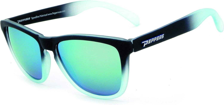 Pepper's Eyeware BREAKERS MP540-24 Black/Crystal Fade, Black, Size Standard