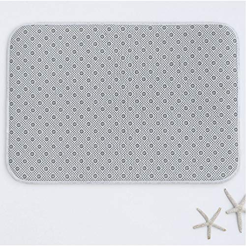 ACYKM Felpudo 3D Felpudo Antideslizante Veo Londres Veo Francia Alfombrilla Puerta Tela no Tejida-50x80cm