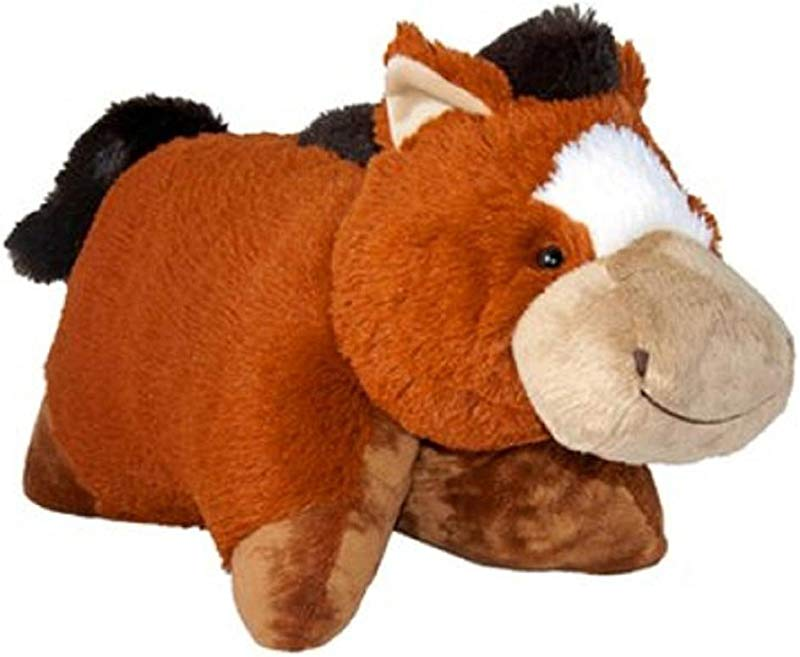 ORIGINAL GENUINE PILLOW PETS CUDDLE PETS 18 INCH SIR HORSE