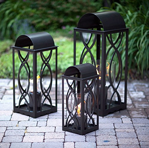 Buy Bargain Terra Flame 700953164254 Augusta Collection Lantern, Medium-26.5in, Bronze
