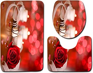 QLSN Spazzolino Portaspazzolino Portasaponetta Set da Bagno in Set da 4 Pezzi Coppia Set di Piatti in Plastica per Lozione per Bottiglie di Lozione per Tazza di Spazzolino da Denti con Collutorio