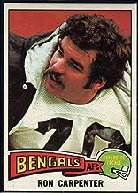 Football NFL 1975 Topps #197 Ron Carpenter Bengals
