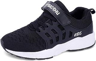 WYSBAOSHU Trainers of Unisex Kids Lightweight Sneaker for Running Ball Sports