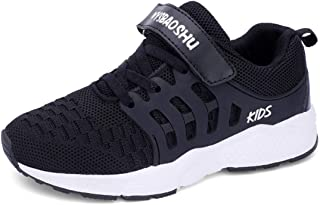 WYSBAOSHU Boys Sneaker Unisex Kids Sports Shoes Breathable Lightweight for Running