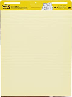 Post-it Easel Pad, 25 x 30 Inch sheets, Yellow Paper with Lines, 30 Sheets/Pad, Pack of 2