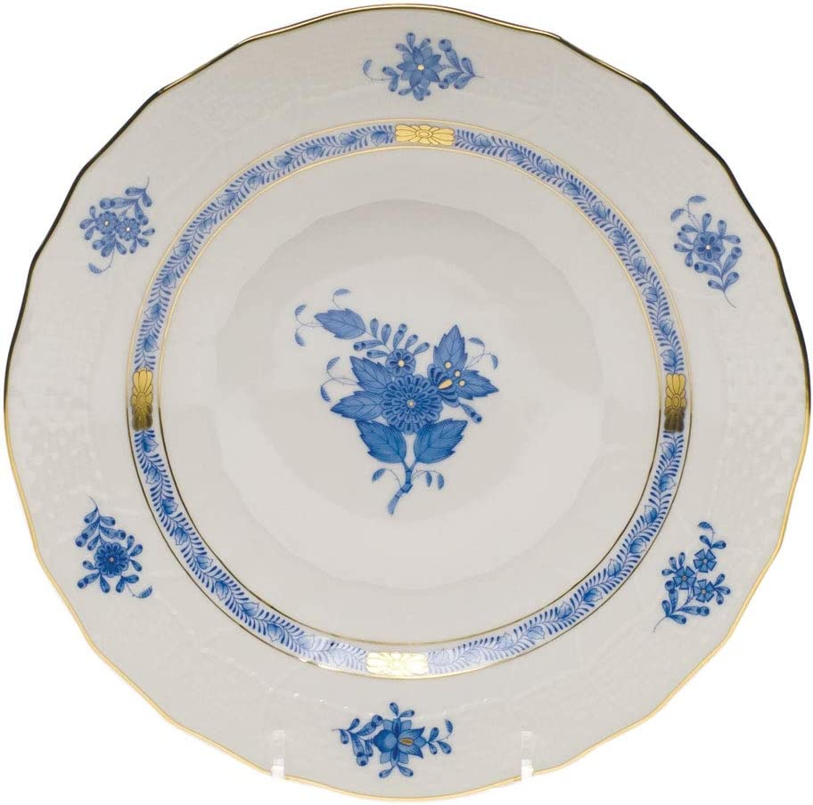 Herend Chinese Bouquet Blue Cheap bargain Plate Dessert Porcelain 100% quality warranty